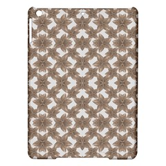 Stylized Leaves Floral Collage iPad Air Hardshell Cases