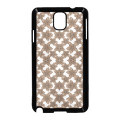 Stylized Leaves Floral Collage Samsung Galaxy Note 3 Neo Hardshell Case (Black)