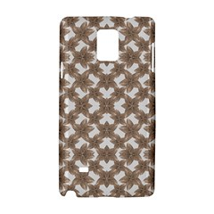 Stylized Leaves Floral Collage Samsung Galaxy Note 4 Hardshell Case