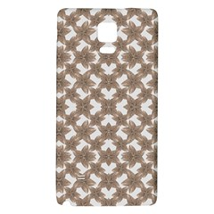 Stylized Leaves Floral Collage Galaxy Note 4 Back Case
