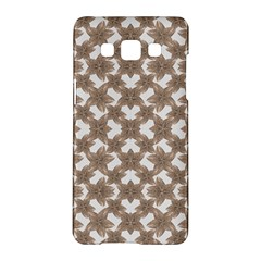 Stylized Leaves Floral Collage Samsung Galaxy A5 Hardshell Case