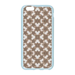 Stylized Leaves Floral Collage Apple Seamless iPhone 6/6S Case (Color)