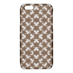 Stylized Leaves Floral Collage iPhone 6/6S TPU Case