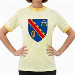 County Armagh Coat of Arms Women s Fitted Ringer T-Shirts