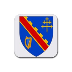 County Armagh Coat of Arms Rubber Coaster (Square)