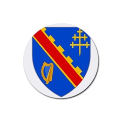 County Armagh Coat of Arms Rubber Coaster (Round)