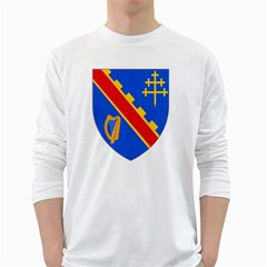 County Armagh Coat of Arms White Long Sleeve T-Shirts
