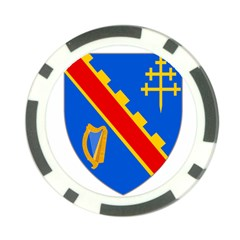 County Armagh Coat of Arms Poker Chip Card Guard (10 pack)