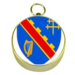 County Armagh Coat Of Arms Gold Compasses