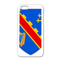 County Armagh Coat of Arms Apple iPhone 6/6S White Enamel Case