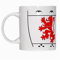 County Carlow Coat of Arms White Mugs