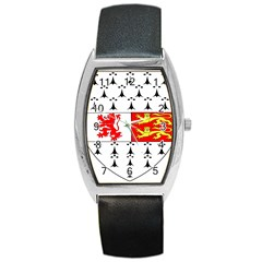 County Carlow Coat of Arms Barrel Style Metal Watch