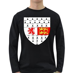 County Carlow Coat of Arms Long Sleeve Dark T-Shirts