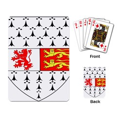 County Carlow Coat of Arms Playing Card