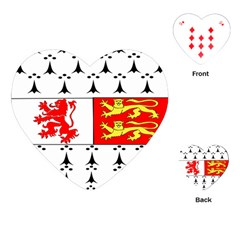 County Carlow Coat of Arms Playing Cards (Heart)