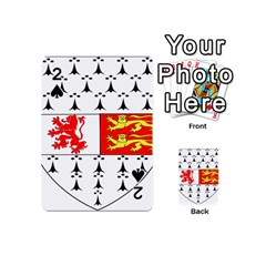 County Carlow Coat Of Arms Playing Cards 54 (mini)