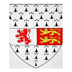 County Carlow Coat of Arms Shower Curtain 60  x 72  (Medium)