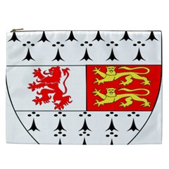 County Carlow Coat of Arms Cosmetic Bag (XXL)