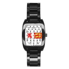 County Carlow Coat of Arms Stainless Steel Barrel Watch