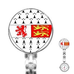 County Carlow Coat of Arms Stainless Steel Nurses Watch