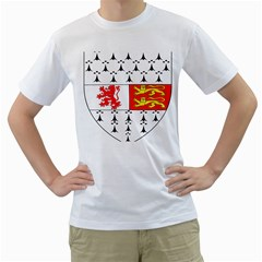 County Carlow Coat of Arms Men s T-Shirt (White)