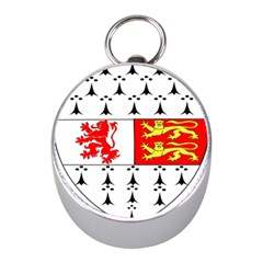 County Carlow Coat of Arms Mini Silver Compasses