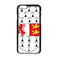 County Carlow Coat of Arms Apple iPhone 6/6S Black Enamel Case