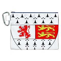 County Carlow Coat of Arms Canvas Cosmetic Bag (XXL)