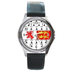 County Carlow Coat of Arms Round Metal Watch