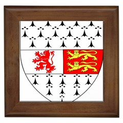 County Carlow Coat Of Arms Framed Tiles