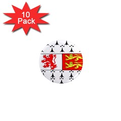 County Carlow Coat of Arms 1  Mini Magnet (10 pack)