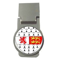 County Carlow Coat of Arms Money Clips (Round)