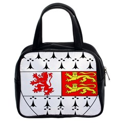 County Carlow Coat of Arms Classic Handbags (2 Sides)