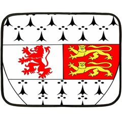County Carlow Coat of Arms Double Sided Fleece Blanket (Mini)