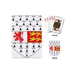 County Carlow Coat of Arms Playing Cards (Mini)