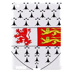 County Carlow Coat of Arms Apple iPad 3/4 Hardshell Case (Compatible with Smart Cover)