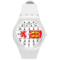County Carlow Coat of Arms Round Plastic Sport Watch (M)