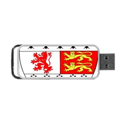 County Carlow Coat of Arms Portable USB Flash (One Side)