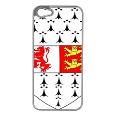 County Carlow Coat of Arms Apple iPhone 5 Case (Silver)