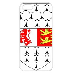 County Carlow Coat of Arms Apple iPhone 5 Seamless Case (White)