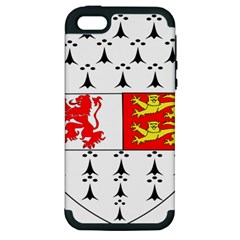 County Carlow Coat of Arms Apple iPhone 5 Hardshell Case (PC+Silicone)