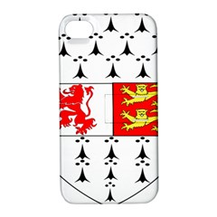 County Carlow Coat of Arms Apple iPhone 4/4S Hardshell Case with Stand