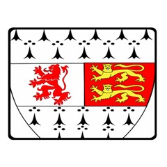 County Carlow Coat of Arms Double Sided Fleece Blanket (Small)