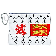 County Carlow Coat of Arms Canvas Cosmetic Bag (XL)