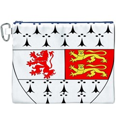 County Carlow Coat of Arms Canvas Cosmetic Bag (XXXL)