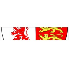 County Carlow Coat of Arms Flano Scarf (Large)