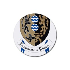 Cavan County Council Crest Rubber Round Coaster (4 pack)
