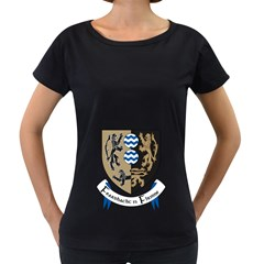 Cavan County Council Crest Women s Loose-Fit T-Shirt (Black)