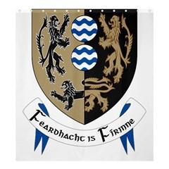 Cavan County Council Crest Shower Curtain 66  x 72  (Large)