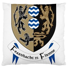 Cavan County Council Crest Standard Flano Cushion Case (Two Sides)